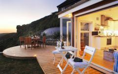 terrasse cottage côtier