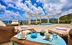 escapade romantique exotique villa de vacances