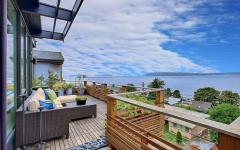 belle terrasse maison avec vue splendide