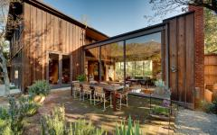 outdoor maison rénovée en bois