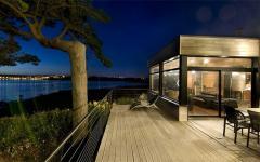résidence de vacances en bois moderne