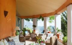 terrasse mobilier de jardin rottin