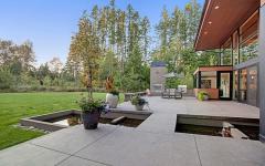 espaces outdoor maison d'architecte