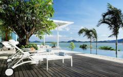 extérieur piscine villa de vacances à louer phuket