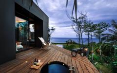 terrasse jacuzzi vacances paradisiaque à louer
