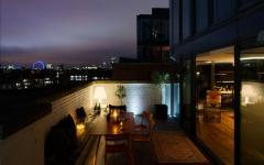 terrasse luxe loft de ville