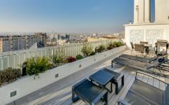 terrasse vue sur paris duplex de luxe