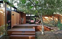 terrasse en bois massif exotique luxe
