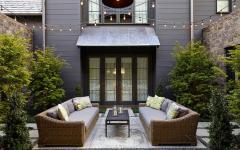 terrasse sympa extérieur résidence de luxe