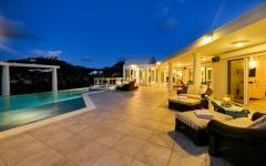 extérieurs exotiques de rêve villa de luxe