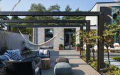 jardin espaces extérieurs pérgola