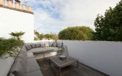 terrasse sur le toit maison londonienne