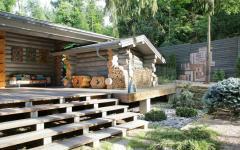 maison secondaire en bois moscou