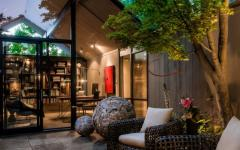 terrasse design luxe maison