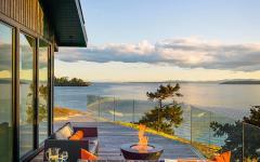 terrasse en bois design maison de vacances