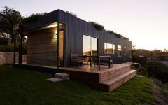 chemin le tour de la maison en bois durable maison éco