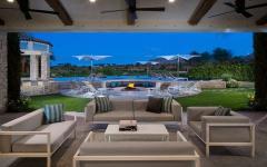 belle demeure californienne vue panoramique