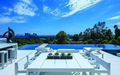 terrasse piscine vue luxe très belle maison