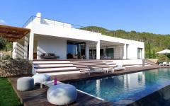 grande piscine outdoor design luxe