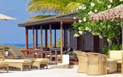 terrasse design luxe villa sur plage