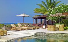 belle villa exotique sur la côte
