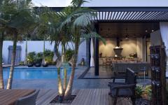 espaces outdoor maison de ville luxe
