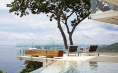 terrasse vue imprenable sur mer villa de luxe vacances exotiques