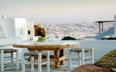 terrasse suite de luxe vacances exotiques mykonos