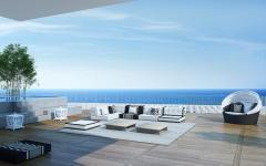 terrasse appartement de vacances de luxe