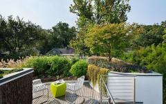 terrasse sur le toit potager écologique