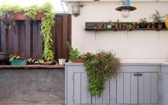 terrasse sur le toit plantes idées déco aménagement mobilier