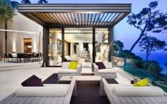 splendide terrasse vue sur méditerranée sud de la france