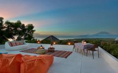 terrasse villa de rêve paradisiaque