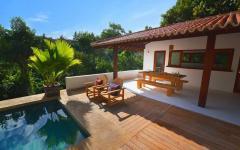espace outdoor terrasse piscine villa vacances