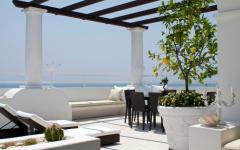 villa de vacance terrasse design