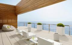 villa de luxe sur la côte vacances
