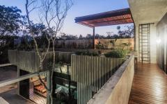 terrasse balcon avec vue vacances exotiques