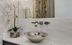 toilettes déco design élégant