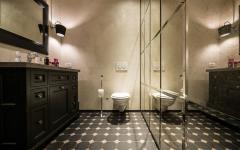 aménagement déco toilettes maison citadine