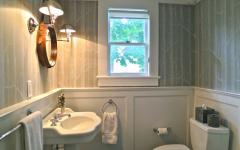 toilettes séparées maison familiale de campagne