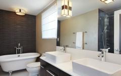 très belle maison de vacances salle de bains design luxe