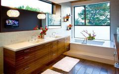 salle de bains unique de luxe