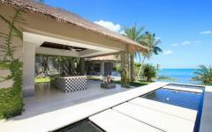 extérieurs de luxe villa à louer exotique