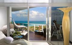 terrasse appartement avec vue sur la mer