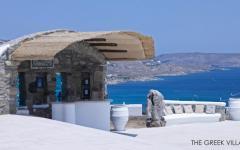 terrasse vue sur la mer villa de vacances