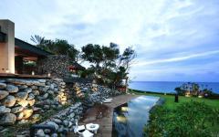 location touristique de luxe villa de rêve