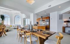 salle à manger design luxueux séjour