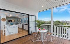 véranda ouverte extension maison agrandissement moderne