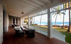 véranda résidence de vacances hawaï