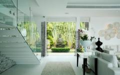 intérieur spacieux moderne design villa